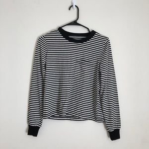 NWT Madewell striped pocket top